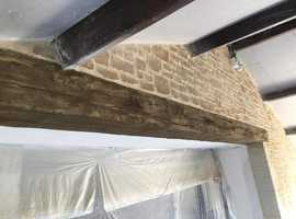 Oak / Pine Beams from STONE-OAK ANY SIZE