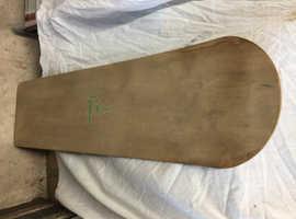 Vintage  wooden Surfboard/Bodyboard.
