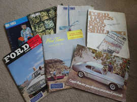 FORD TIMES MAGAZINES