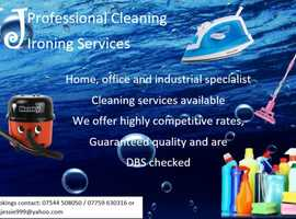 Cleaning and ironing servises