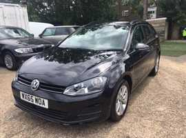 2015 Volkswagen Golf Estate, 1.6 TDI Bluemotion, leather, very good condition