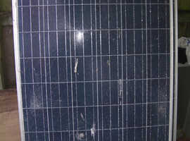 big solar panels. 255 watts