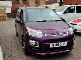 Citroen C3, 2015 (15) Purple MPV, Manual Diesel, 113,290 miles