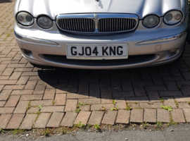 Jaguar X-TYPE, 2004 (04) Silver Saloon, Automatic Petrol, 100,000 miles