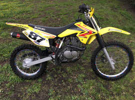 Suzuki DR-Z125 Trail Bike. Part of the Suzuki DR-Z series