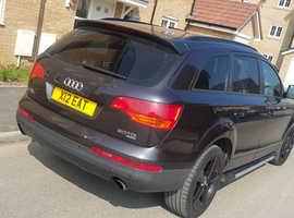 Audi Q7, 2007 (07) Grey Estate, Automatic Diesel, 94,000 miles
