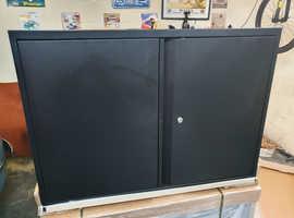 Bisley 2 Door Metal Cupboard