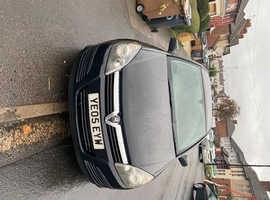 Vauxhall Astra, 2005 (05) Black Hatchback, Manual Petrol, 99,500 miles