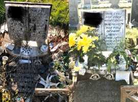 Grave cleaning and tending service
