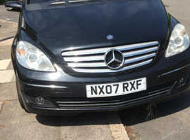 Mercedes B-CLASS, 2007 (07) Black MPV, Manual Diesel, 100,626 miles