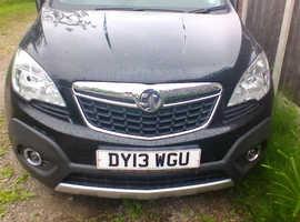 Vauxhall Mokka, 2013 (13) Black Hatchback, Manual Petrol, 42,123 miles