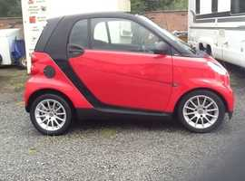 Smart Fortwo Coupe, 2009 (59) Red Coupe, Automatic Diesel, 28 miles