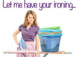 Cleaning ironing & laundry service