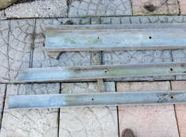 Galvanised channels