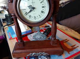 Spanish mantel pendulum clock