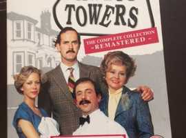 FAWLTY TOWERS THE COMPLETE REMASTERED COLLECTION DVD BOX SET