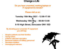 IT Appeal - do you have unwanted IT equipment to donate? Change your IT. Change a Life.