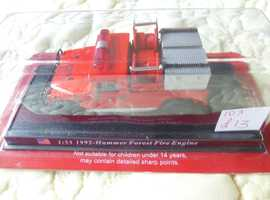 1992 HUMMER FOREST FIRE ENGINE 1:53 SCALE