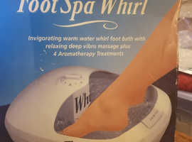 Free Foot Spa!
