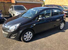 Vauxhall Corsa, 2015 (15) Black Hatchback, Manual Diesel, 71,105 miles