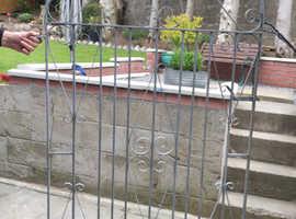 Galvanised Garden Gate ,cash on collection