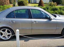 Mercedes E Class, 2003 (53) Silver Saloon, Automatic Petrol, 98,000 miles