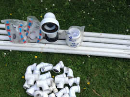 Different lengths of waste pipes plus 30 different size bends