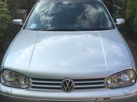 Volkswagen GOLF TDI S, 2002 (02) silver hatchback, Manual Diesel, 140,635 miles