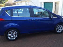 Ford B-Max, 2016 (16) Blue MPV, Manual Diesel, 27,000 miles
