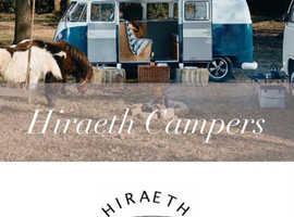 Vintage VW Camper Van Holidays