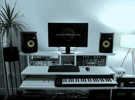 West Drayton recording studio for hire, with producer included (if needed)