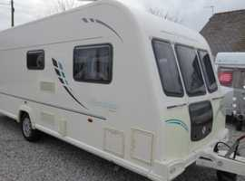Bailey Olympus 534 with awning and mover