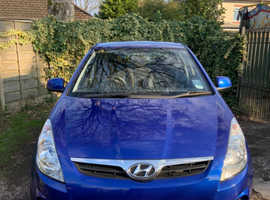 Hyundai i20, 2011 (60) Blue Hatchback, Manual Petrol, 48,782 miles