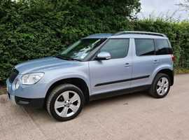 Skoda Yeti, 2010 (10) Blue Hatchback, Manual Diesel, 86,000 miles 1 Previous owner FSH