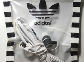 White Adidas Earphones