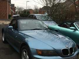 BMW 3SERIES, 2.8  1999 (T) Blue Convertible, Manual Petrol, 102,544 miles