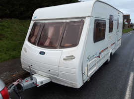 White Tin Box - 2005 Lunar Spirit, 4 berth, awning, freebies, all working, ready to use now