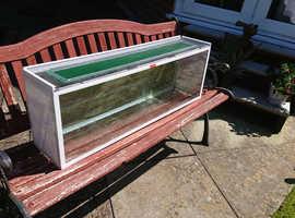 Narrow Glass Tank