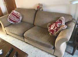 Large settee and matching cuddler