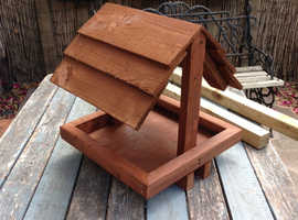 Large Wooden Bird Table