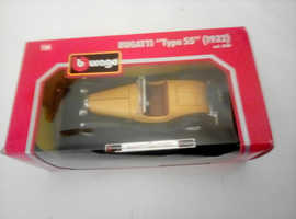 collection of 7 die cast Bburago classic sports cars .