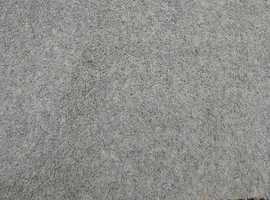 Carpet, medium green, new/unused