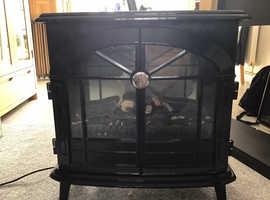 Dimplex electric stove fire