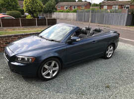 Volvo C70, 2007 T5 (57) Blue Convertible, Manual Petrol, 65,000 miles
