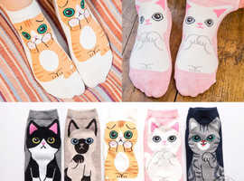 Cat Themed Accessories, Tote Bags, Socks, Hats plus many more