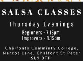 Beginner Salsa Lessons every Thursday in Buckinghamshire