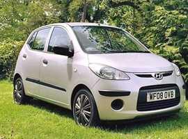 Hyundai i10, 2008 (08) Silver Hatchback, Manual Petrol, 85 miles