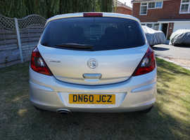 Vauxhall Corsa, 2010 (60) Silver Hatchback, Manual Petrol, 86,632 miles