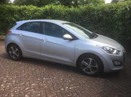 Hyundai i30, 2016 (16) Silver Hatchback, Automatic Petrol, 32,000 miles