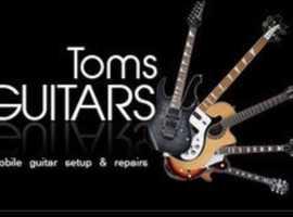 All guitar repairs.